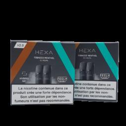 Tabac menthol - Hexa